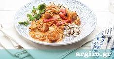 Κοτόπουλο με πιπεριές και γιαούρτι από την Αργυρώ Μπαρμπαρίγου | Έχετε βάλει γιαούρτι σε σάλτσα ντομάτας; Δίνει φανταστικό δέσιμο και απερίγραπτη νοστιμιά!