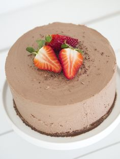Food N, Food And Drink, Cheesecakes, Yummy Cakes, No Bake Cake, Macarons, Mousse, Cake Recipes, Sweet Tooth
