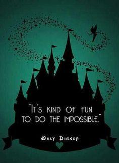 Wise words from Walt himself.