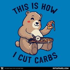 This Is How I Cut My Carbs t-shirt Day Of The Shirt, Pop Culture, Finding Yourself, Graphic Tees, Ely, Funny Shit, Funny Things, T Shirt, Hoodie