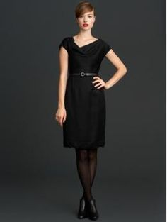 Banana Republic Mad Men series.  Wish they had this in more of a Joanie color though, she does not wear that much black or grey.  More like Pink, Blue and Green