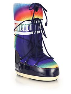 Moon Boot - Rainbow-Print Moon Boots