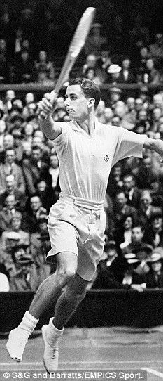 """Our last British tennis player to play in a Wimbledon men's final was Henry """"Bunny"""" Austin in 1938 - he won a £10 gift voucher as runner up."""