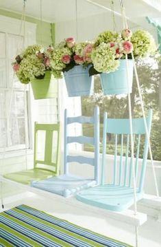 Tante idee Shabby Chic da realizzare con le vecchie sedie