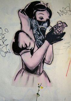 bristol uk england Goin street art Bad Apple 2