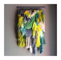 MADE TO ORDER  Woven wall hanging / Little treasures by jujujust