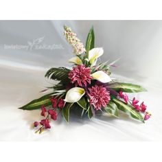 F58 Silk Flowers, Fabric Flowers, Ikebana, Funeral, Floral Arrangements, Diy And Crafts, Plants, Window Boxes, Christmas Crafts