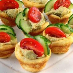 Hummus Cups + 7 other Delightful Finger Foods