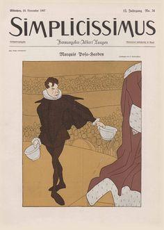 Simplicissimus, Titel 18 November 1907.