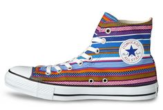 3730b03ca67a Converse Chuck Taylor All Star Hi  Huipil  - Inspired by the traditional  Mayan textile