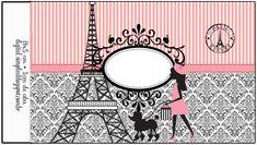 Precioso París: Etiquetas para Candy Buffet para Imprimir Gratis.