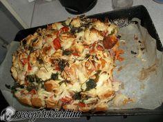 Kipróbált Töltött kenyér recept egyenesen a Receptneked.hu gyűjteményéből. Küldte: kitti.gombkoto Quiche, Cauliflower, Pizza, Bors, Meat, Chicken, Vegetables, Breakfast, Hungarian Recipes