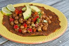 Jerk Chickpeas (GF) (lime juice, tomato paste, garbanzo beans, red bell pepper, green onions)