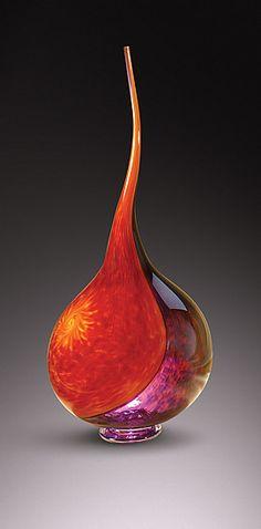 Victor chiarizia glass | ... /Deep Purple): Victor Chiarizia: Art Glass Sculpture | Artful Home