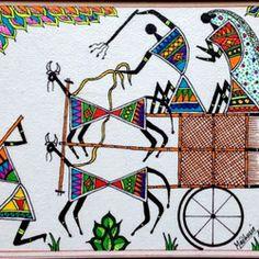 Maddie Art - Warli Paintings