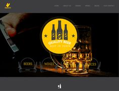 Beer Place Website Template