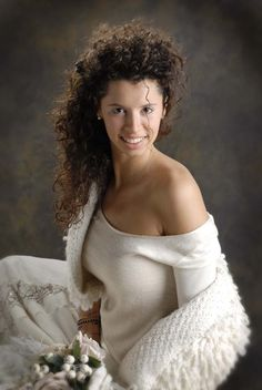 Un caldo bolero di lana per la #sposa #shabby www.anaphalis.it