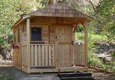 Outdoor Living Today - 8 x 12 Santa Rosa Garden Shed with Dutch Door