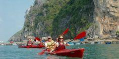 2 days, Cruising & Kayaking in Bai Tu Long Bay, sleep on board, and visit a floating fishing village.    oooo