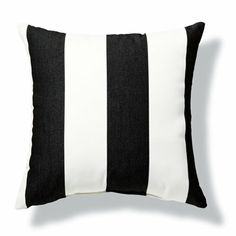 Striped Outdoor Pillow | Fresh & Fab Outdoor Pad