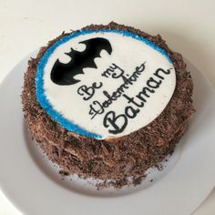 Batman cake for my bf #valentinesday