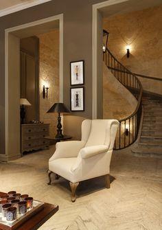 escalier flamant