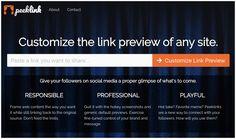 PeekLink. Personnaliser l'aperçu des liens partagés | Les outils de la veille https://outilsveille.com/2018/04/peeklink-personnaliser-lapercu-des-liens-partages/