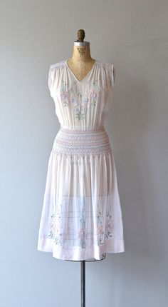 Palanka embroidered dress vintage 1920s dress by DearGolden