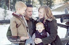 Woodland Park Colorado Winter Family Portraits   Sheena Harper Photography