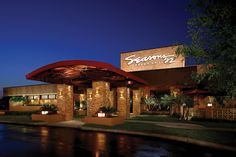 Seasons 52 (Schaumburg). A new Seasons 52 also recently opened at Oak Brook Center. Delicious, healthy food options.