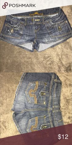 Size 7 almost famost shorts Size 7 almost famous jean shorts Almost Famous Shorts Jean Shorts