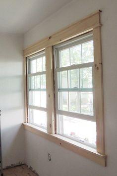 Ideas house exterior brick modern fixer upper for 2019 Craftsman Window Trim, Interior Window Trim, Craftsman Curtains, Craftsman Columns, Brick Interior, Exterior Paint Colors For House, Paint Colors For Home, Siding Colors, Paint Colours