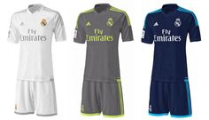 Camisas do Real Madrid 2015-2016 Adidas
