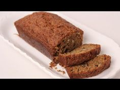 Homemade Zucchini Bread Recipe - Laura Vitale - Laura in the Kitchen Episode 436