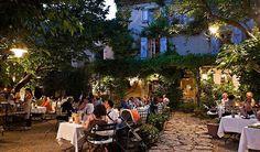 Le Mas Tourteron Restaurant, Gordes, France