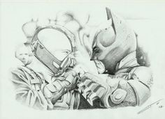 Batman combatendo seu último inimigo até agora...