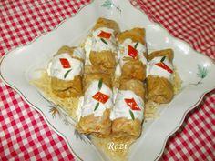 Rozi erdélyi,székely konyhája: Töltött káposzta paradicsomosan Waffles, Meat, Chicken, Breakfast, Food, Morning Coffee, Essen, Waffle, Meals