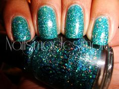 China Glaze - Atlantis Love this color and the glitter is a bonus