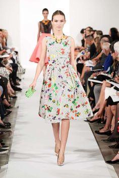 New York Fashion Week Oscar de la Renta fashion show