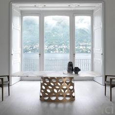 Jean #DiningTable by #Porada starting from £2,125. Showroom open 7 days a week. #fcilondon #furniture_showroom_london #furniture_stores_london #porada_furniture #porada_tables #modern_tables  #porada_dining_tables