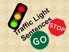 Full Stops/Speech Marks... Traffic Light Sentences & Speech mark sandwich