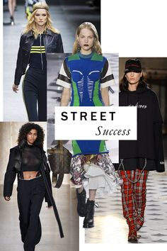 Fashion is an industry that loves to feel as though it's uncovered something. To wit: its ongoing infatuation with streetwear, which, for Fall, shows no signs of waning. With an amped-up tenor of luxury, track pants, hoodies, and sportif stripes have never felt more right.