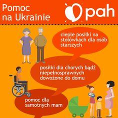 PAH zaangażowała się w pomoc humanitarną dla uchodźców wewnętrznych na Ukrainie w połowie 2014 roku. Od stycznia 2015 pracownicy PAH przebywają na wschodzie Ukrainy na stałe i kontynuują udzielanie pomocy humanitarnej. Dostarczyliśmy żywność, artykuły higieniczne oraz artykuły pierwszej potrzeby (koce, ciepła odzież, śpiwory). Dostarczyliśmy również sprzęt medyczny oraz leki do szpitali i przychodni. Prowadzimy stołówki, z których korzystają osoby starsze i niepełnosprawne.
