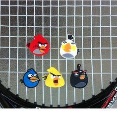 Addicted to Angry Birds? Ahora en tu raqueta de #tenis