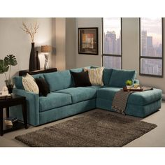 """Found it at Joss & Main - Ostrow 112"""" Right-Facing Sectional"""