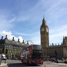 #london #londoneye #bigben #redbus #uk