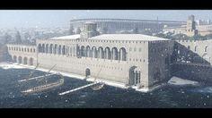 Byzantine Architecture, Chinese Architecture, Historical Architecture, Ancient Architecture, Ancient Rome, Ancient Greece, Ancient History, Fantasy City, Fantasy Castle