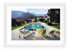 Slim Aarons, Poolside Glamour on OneKingsLane.com