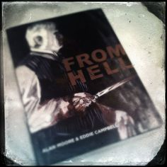 From Hell Graphic Novel by Alan Moore and Eddie Campbell. Eddie Campbell, Novels, Comics, Reading, Books, Libros, Book, Reading Books, Cartoons