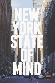New York State of Mind. #NYC